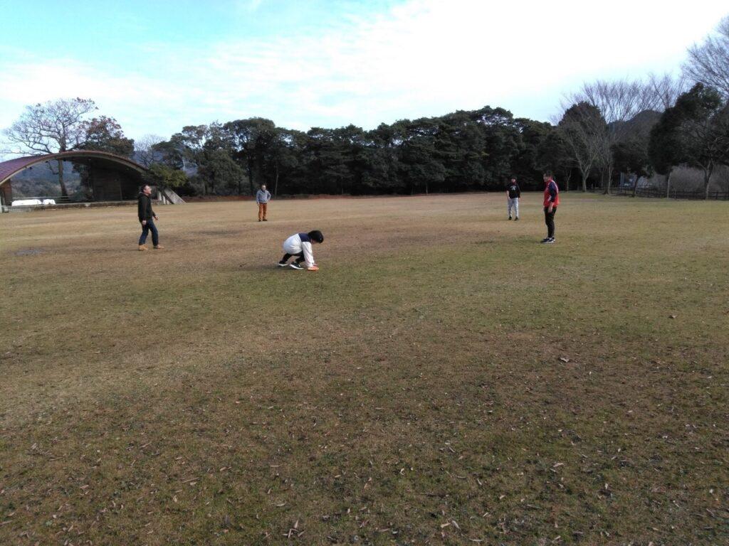 豊田湖畔公園の芝生広場