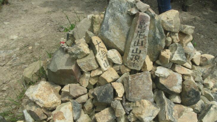 【山口県百名山】大海山(亀尾山)から勘十郎岳を縦走