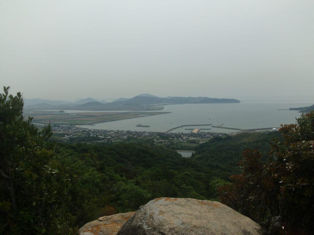 海眺台場からの風景 防府方向