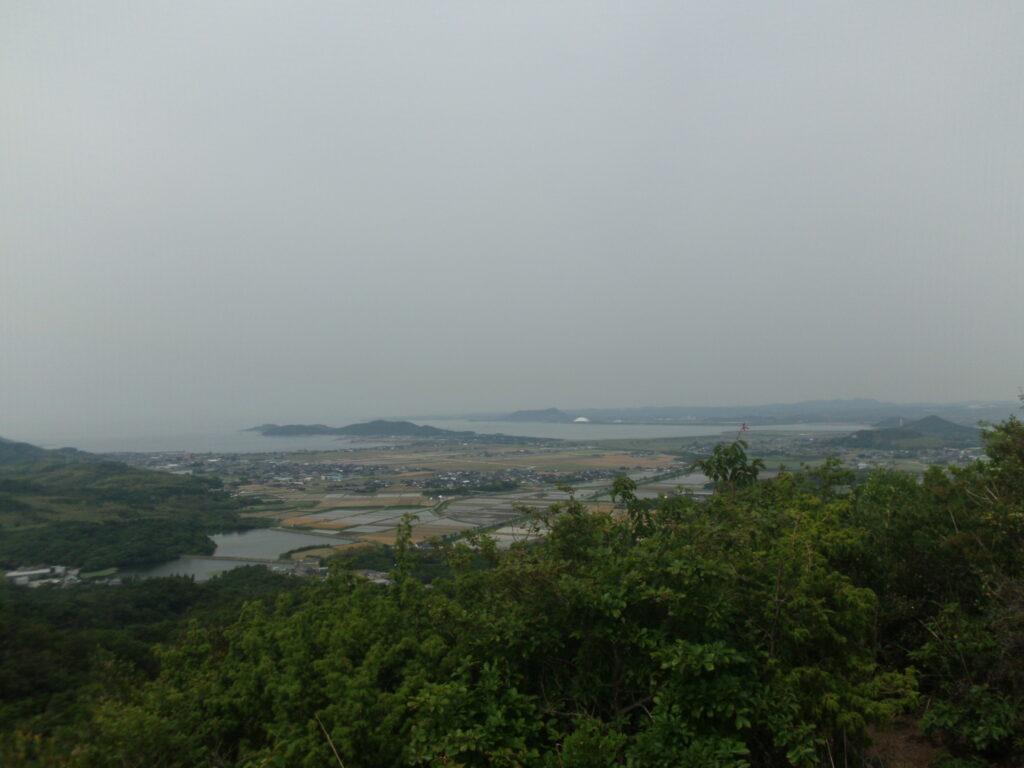 海眺台場からの風景 二島方向