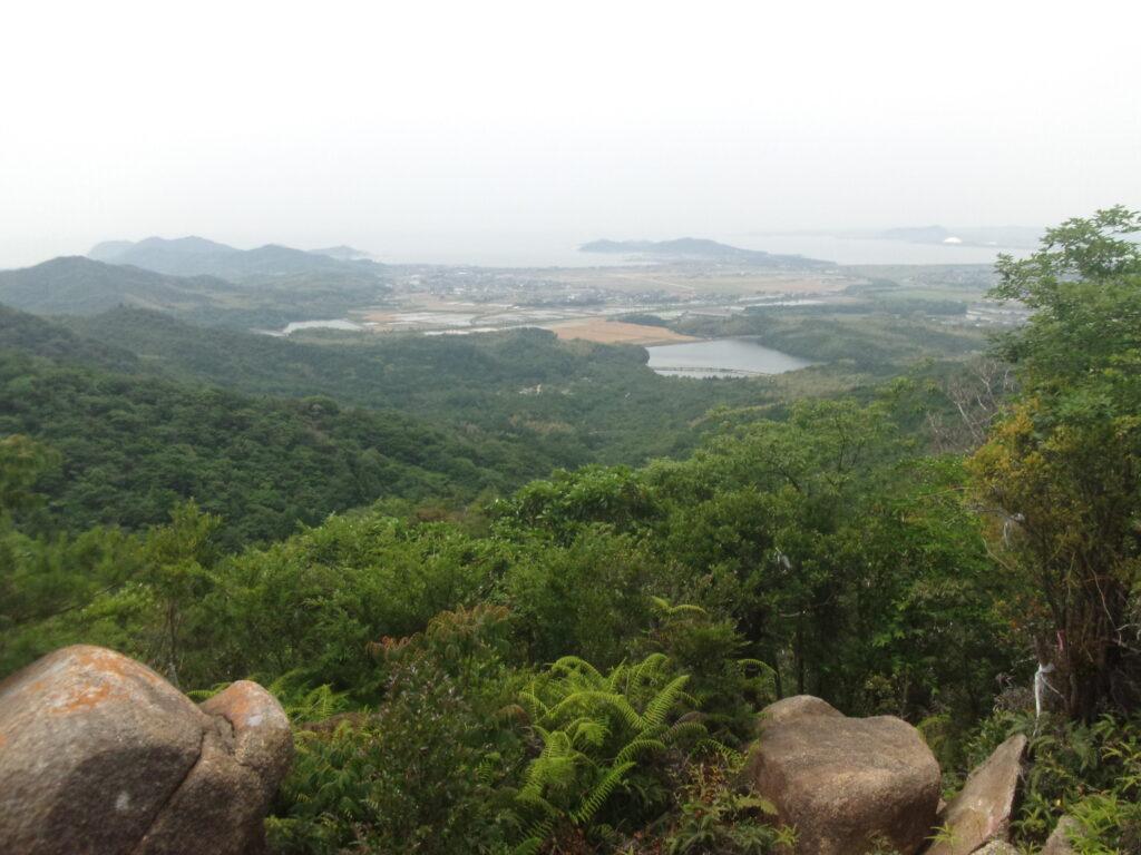 中岳からの風景