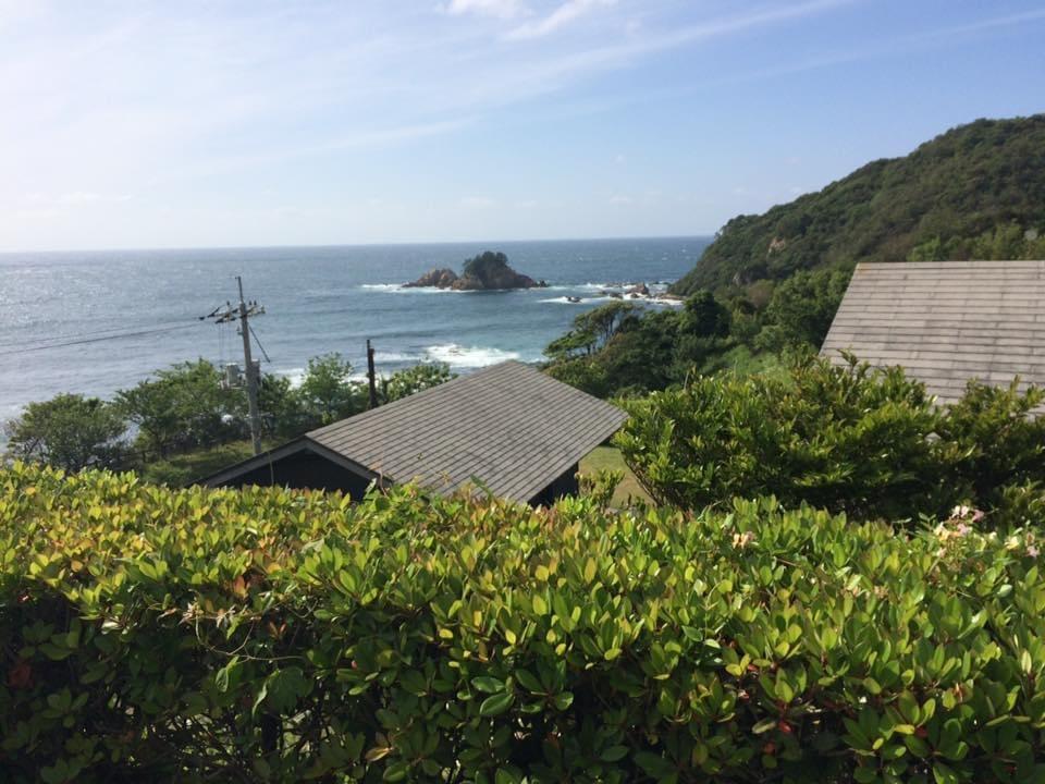 須佐エコロジーキャンプ場 東屋から見る風景
