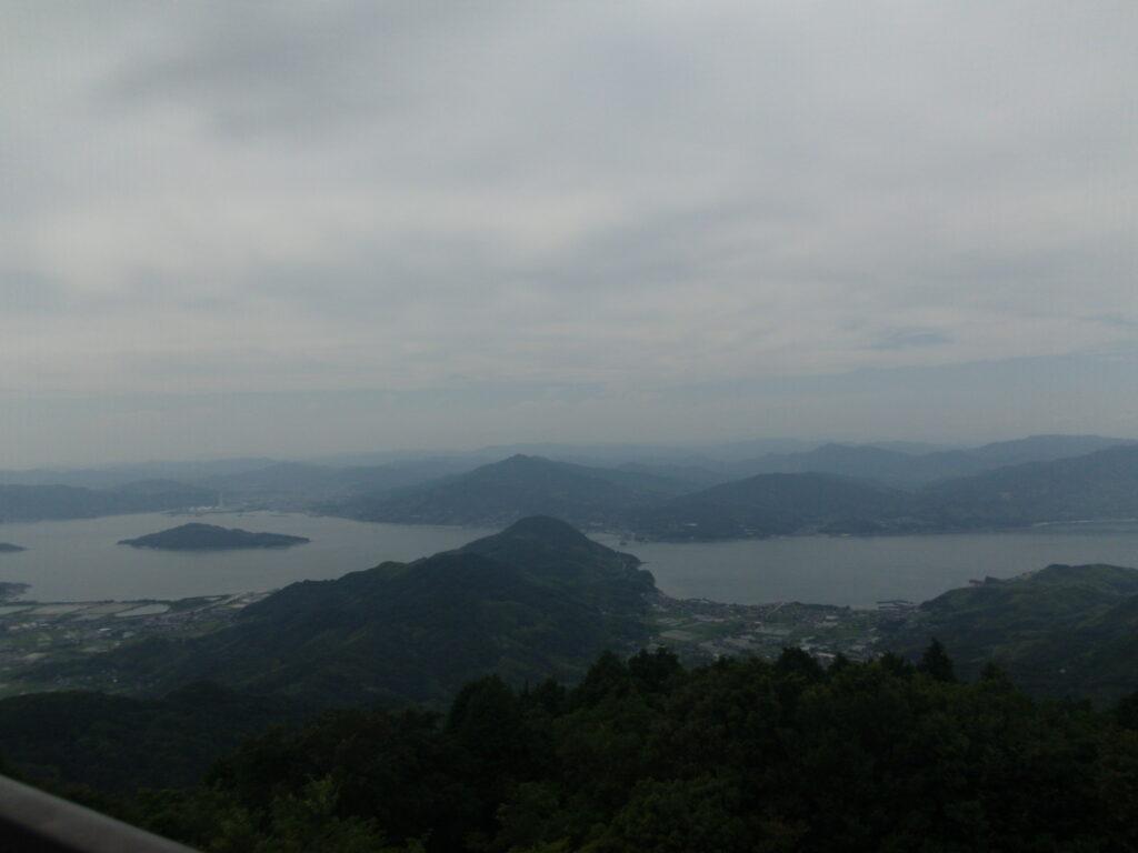 文珠山展望台からの風景(西)