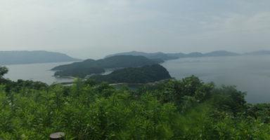 要害山頂上からの景色