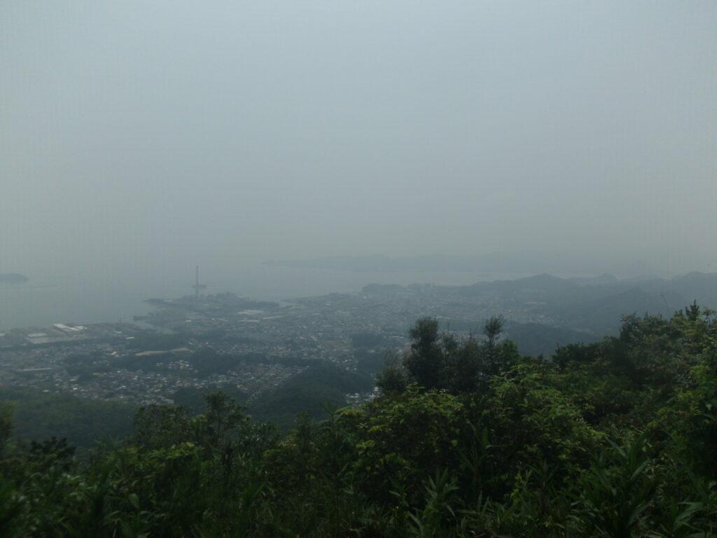 四王司山展望所からの風景