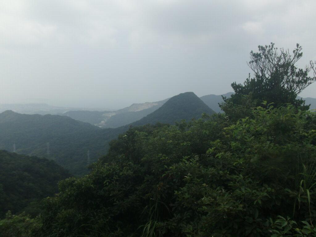 岩山展望台からの景色(勝山)