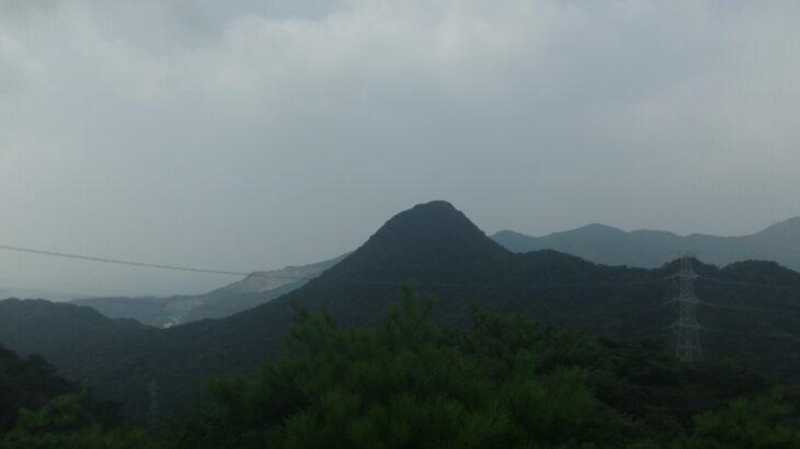第2展望所から見る勝山
