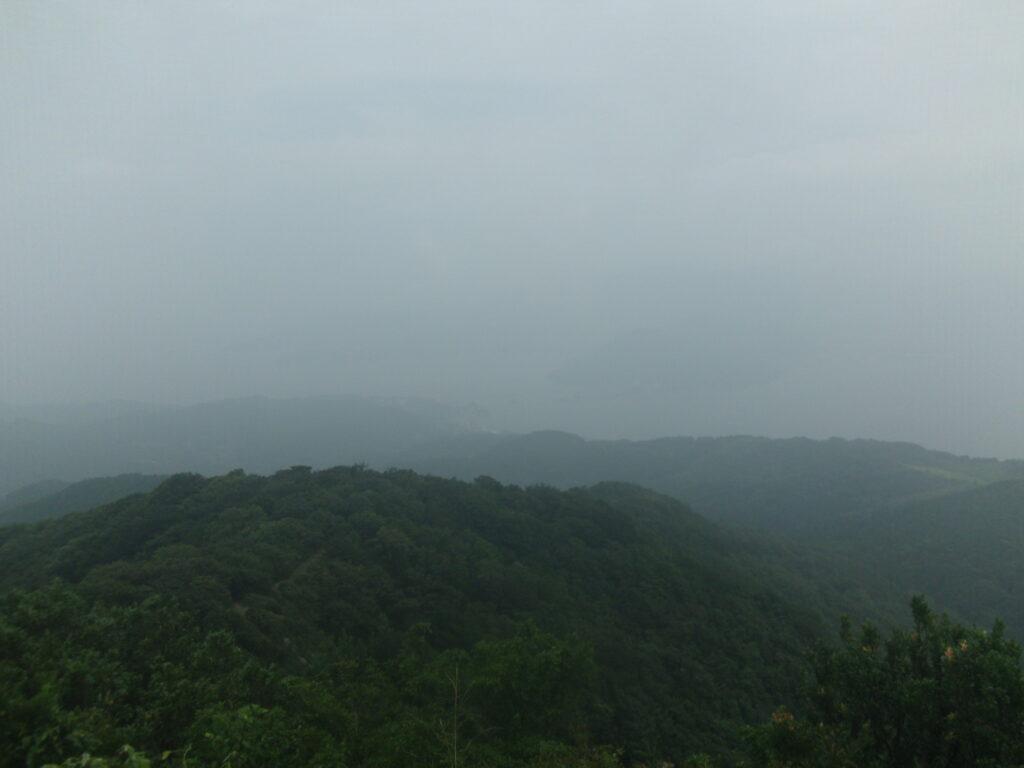 琴石山山頂から大島大橋方向