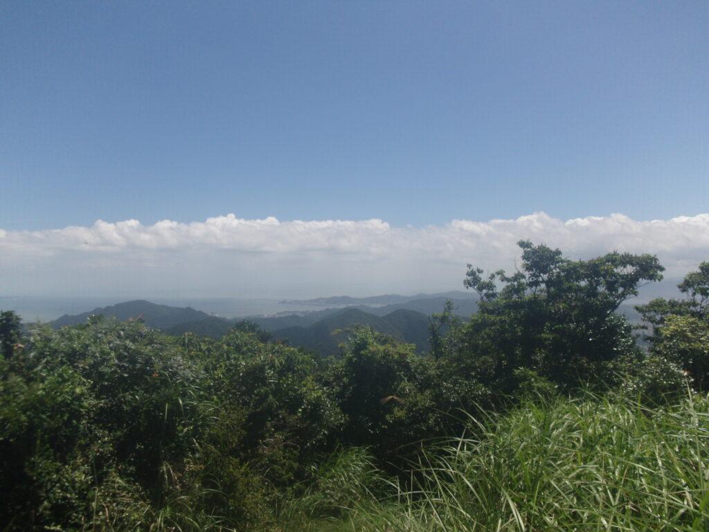 雄鋤崎山からの風景