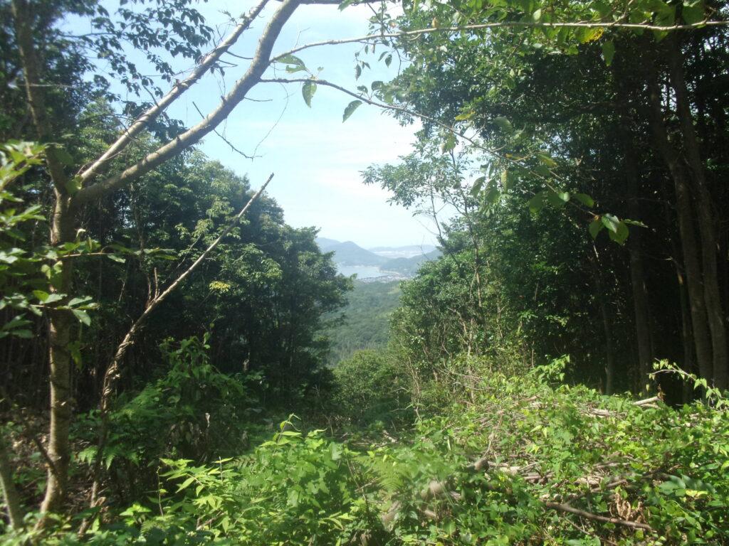 昇仙峰から防府方面
