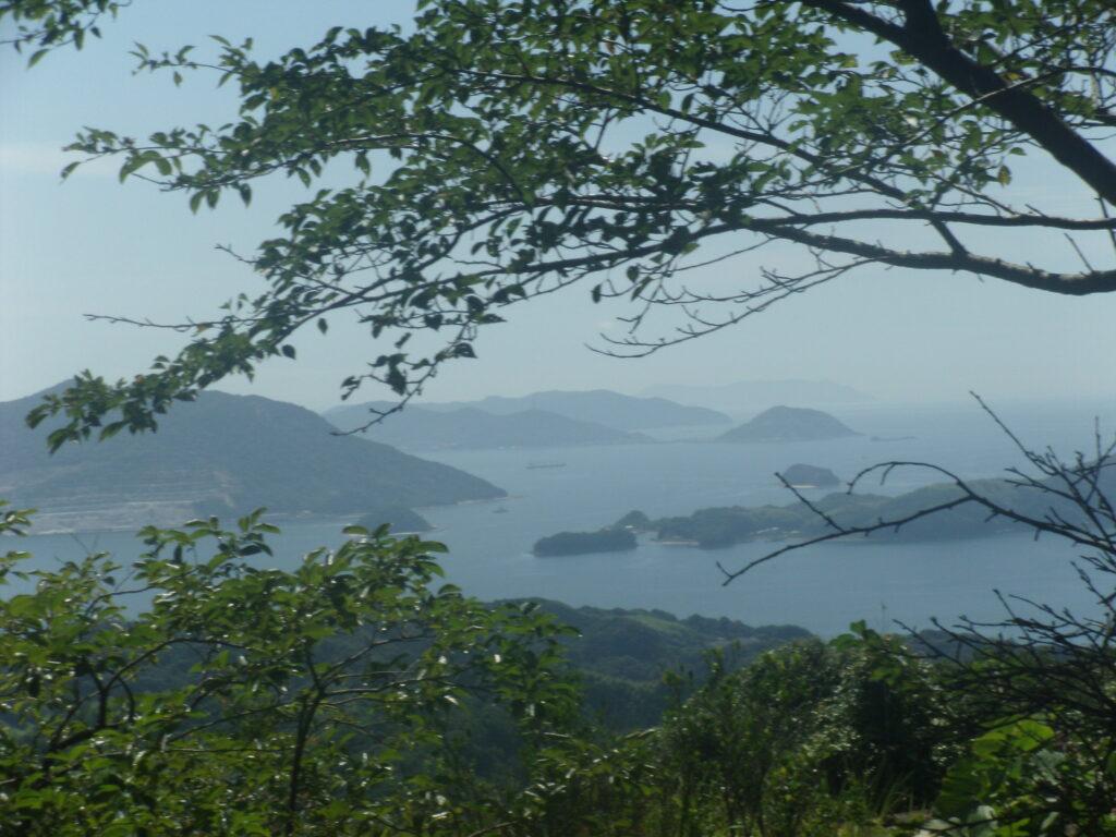 昇仙峰から徳山湾