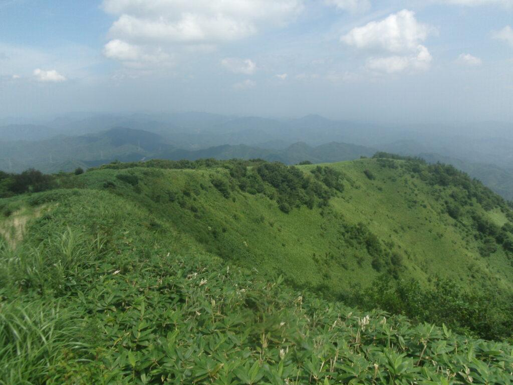 十種ヶ峰 下山