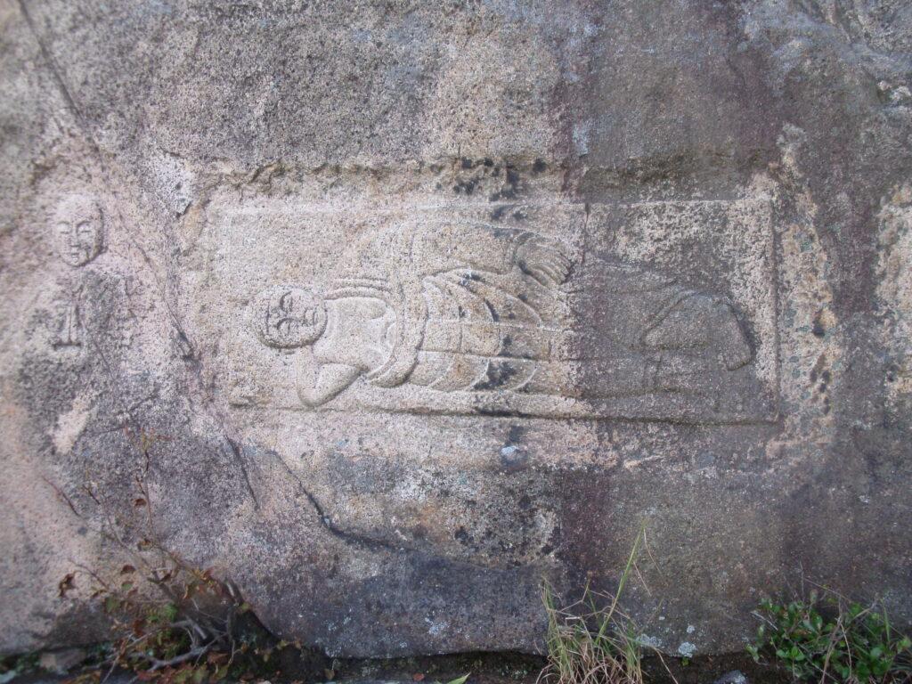 陶ヶ岳の寝釈迦