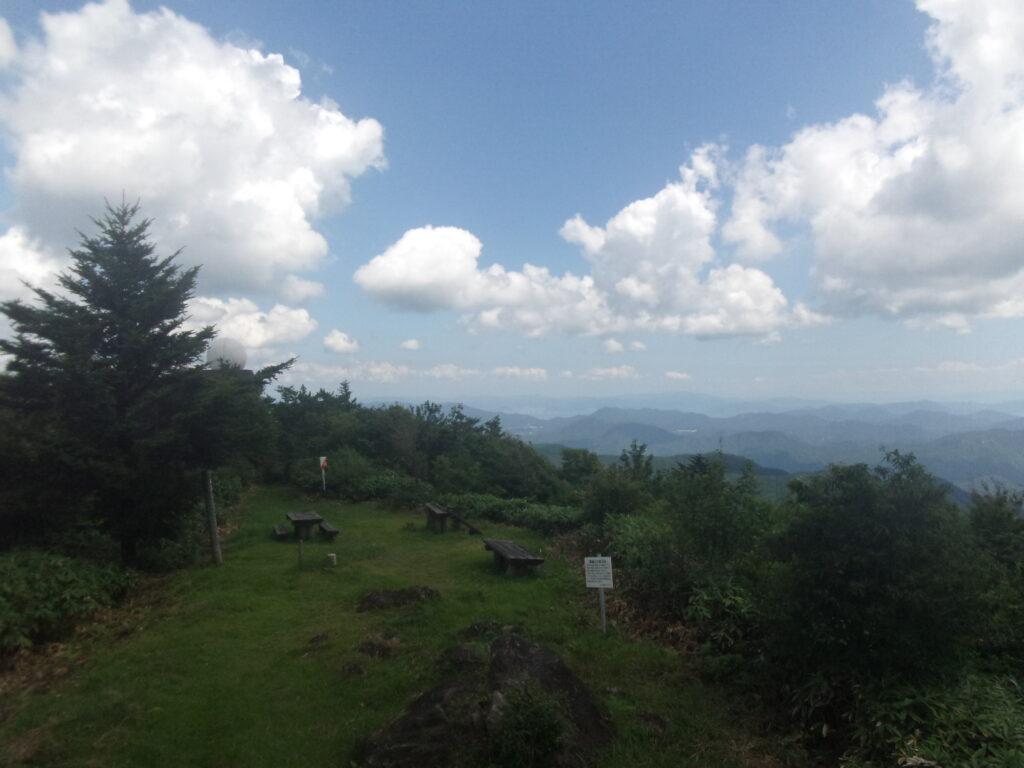 羅漢山からの眺望 広島県方向(宮島方向)
