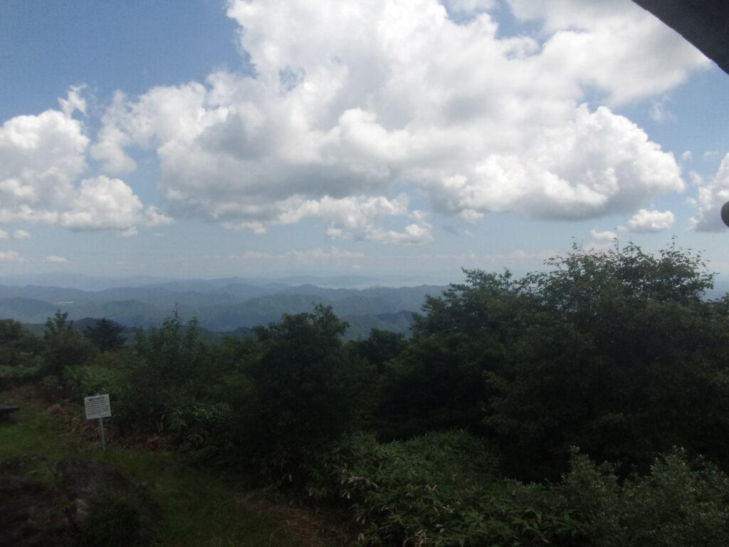 羅漢山からの眺望 岩国市方向