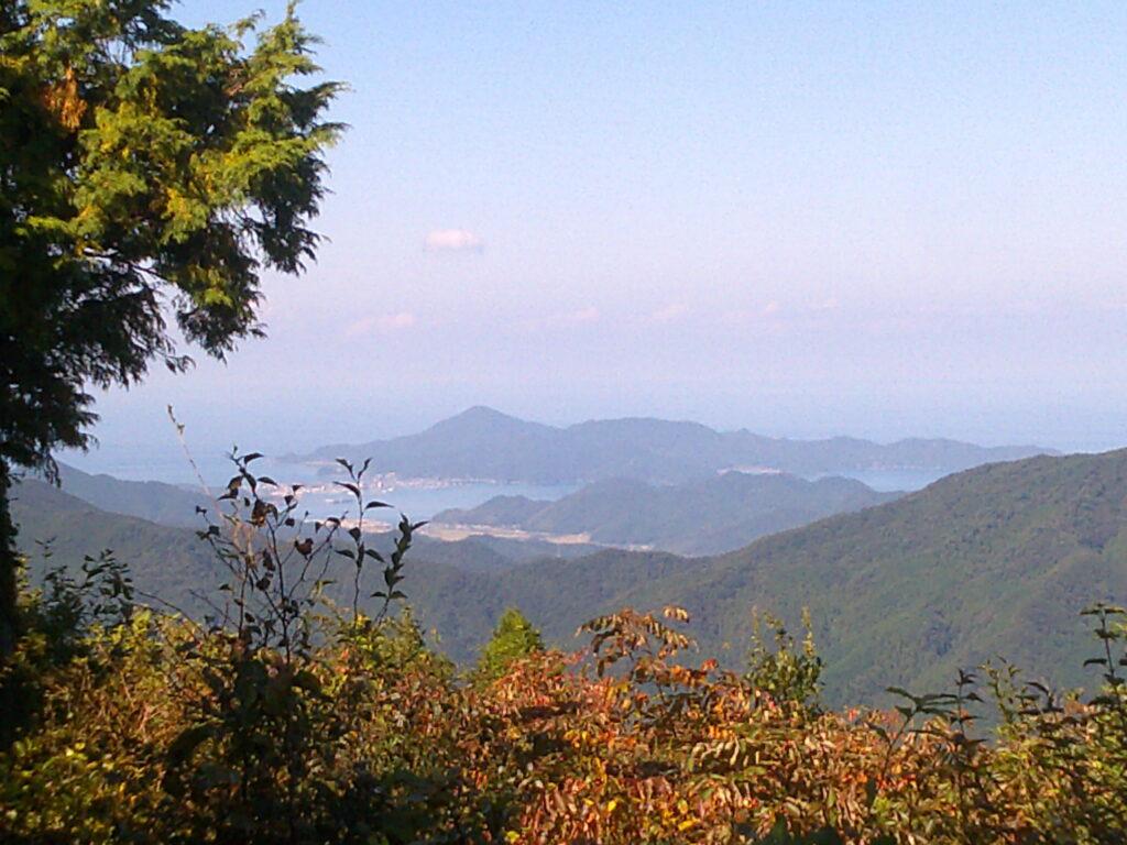 桂木山から見る仙崎・青海島!!!