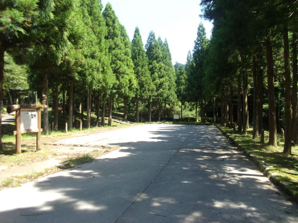 山陽小野田市水道局 水源涵養林駐車場