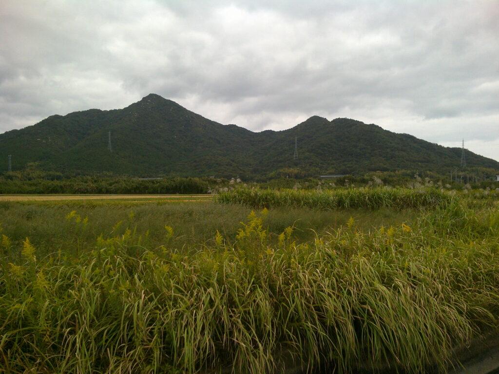 楞厳寺山と佐野山
