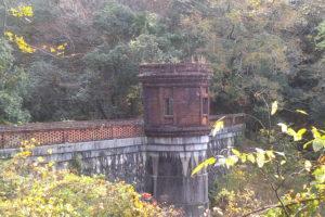 旧桂ヶ谷貯水池堰堤