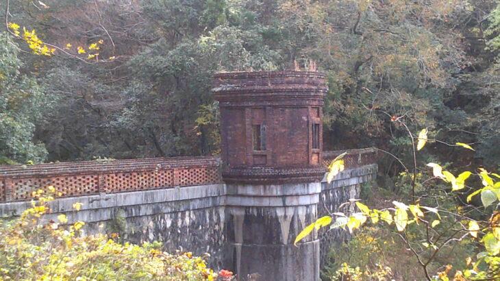 桂ヶ谷貯水池と羽根越貯水池