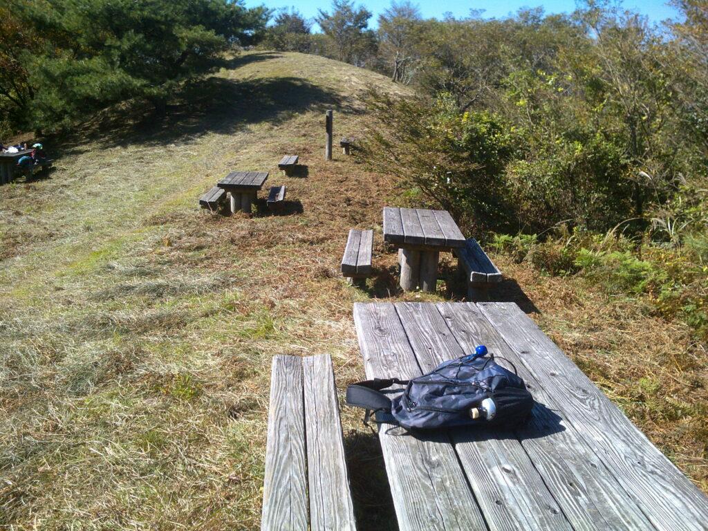 頂上手前の休憩所2