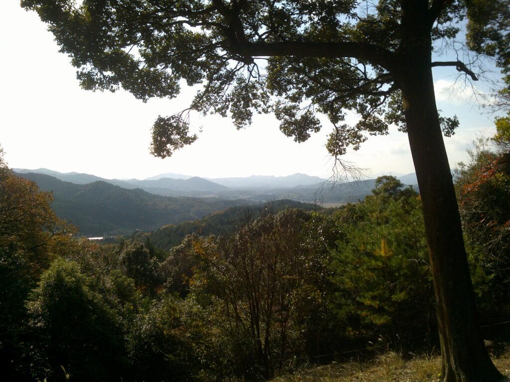 石屋形羅漢山頂上からの景色
