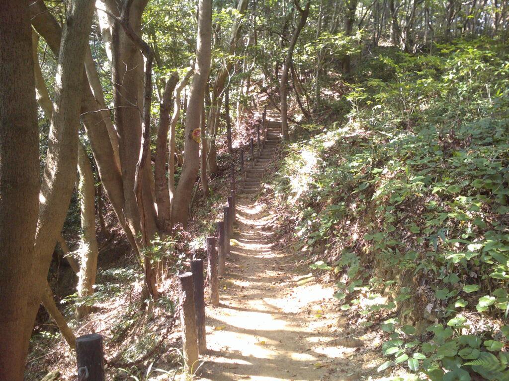 本丸への階段