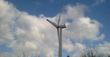 妙見山公園の風車
