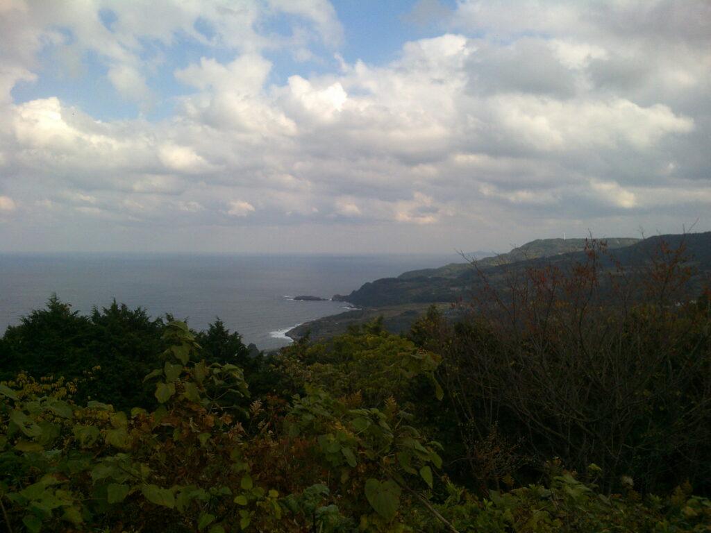 妙見山展望公園から向津具半島方面