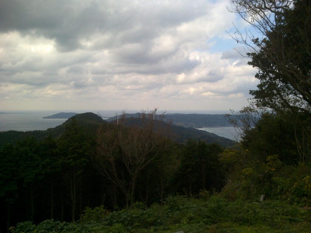 雨乞岳から見る向津具半島