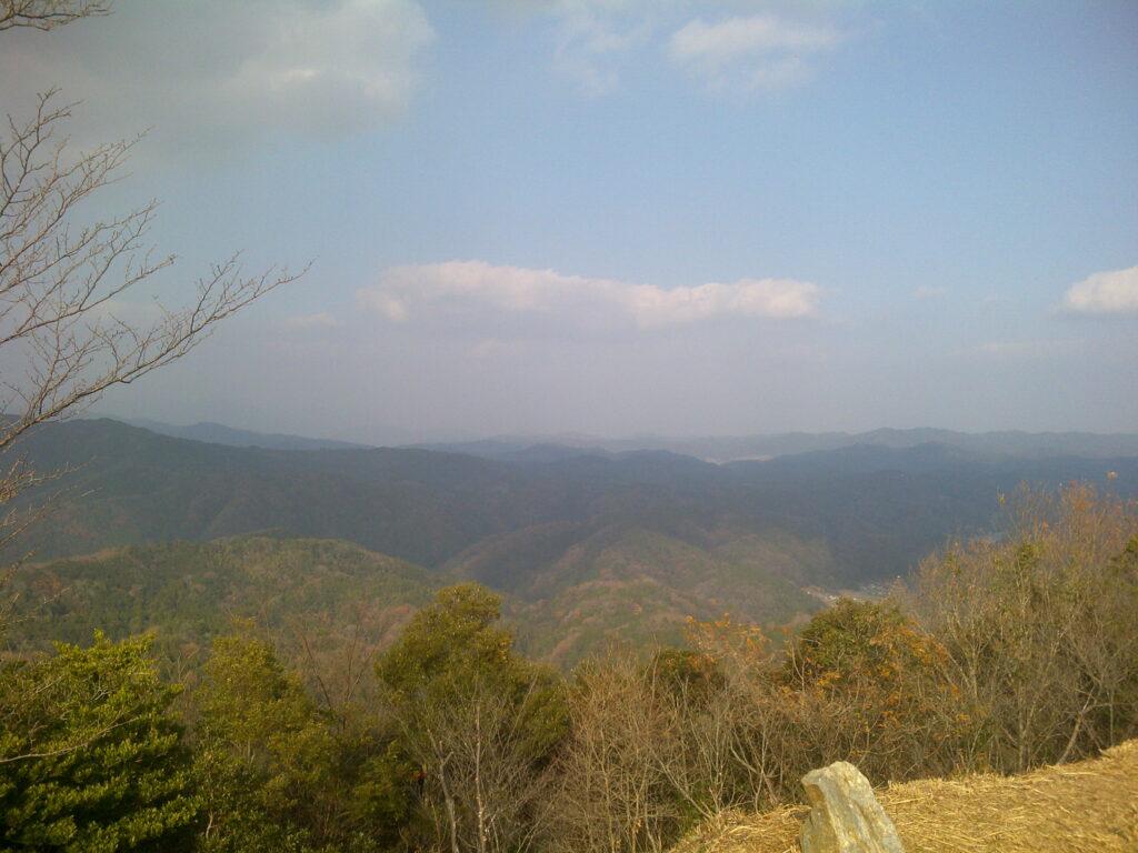 山側の風景