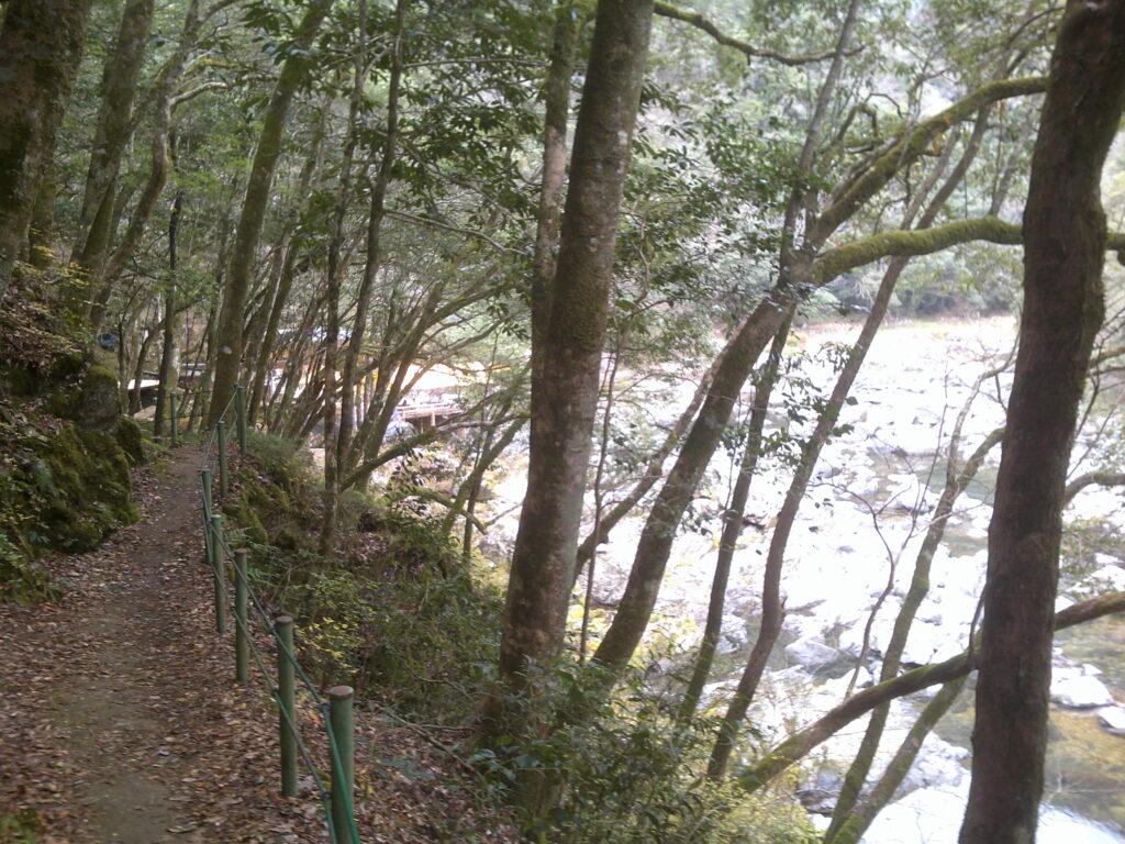 長門峡 遊歩道