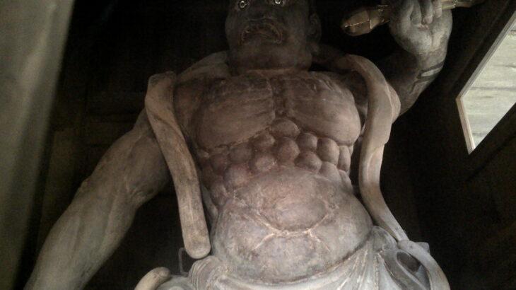 狗留孫山修禅寺 阿形像(金剛力士像)