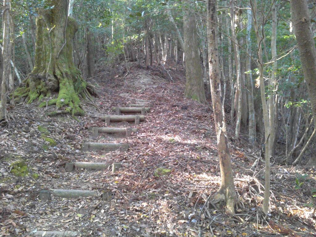 狗留孫山へ 階段