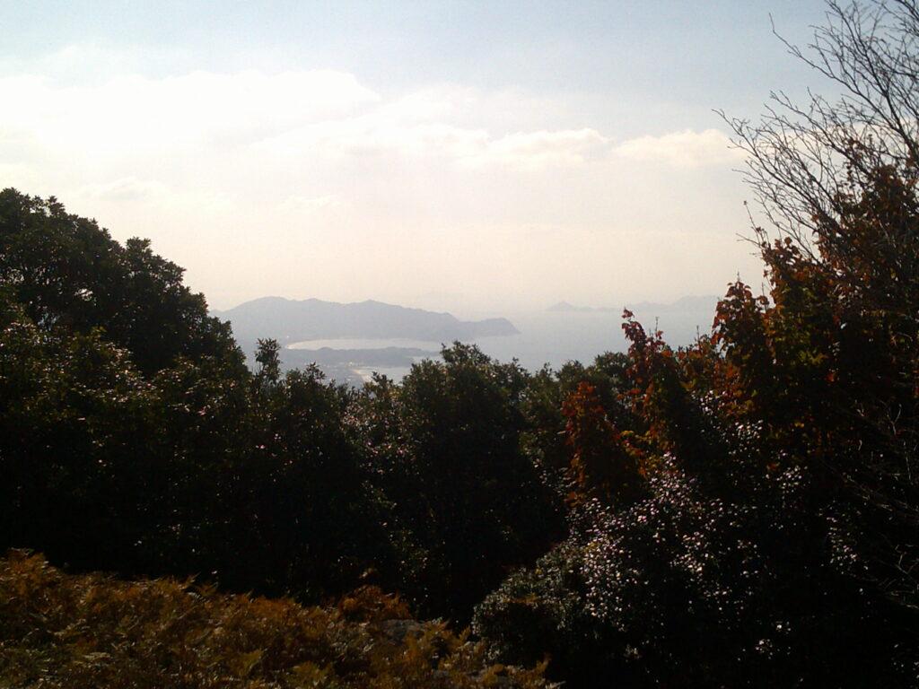 狗留孫山山頂からの眺望