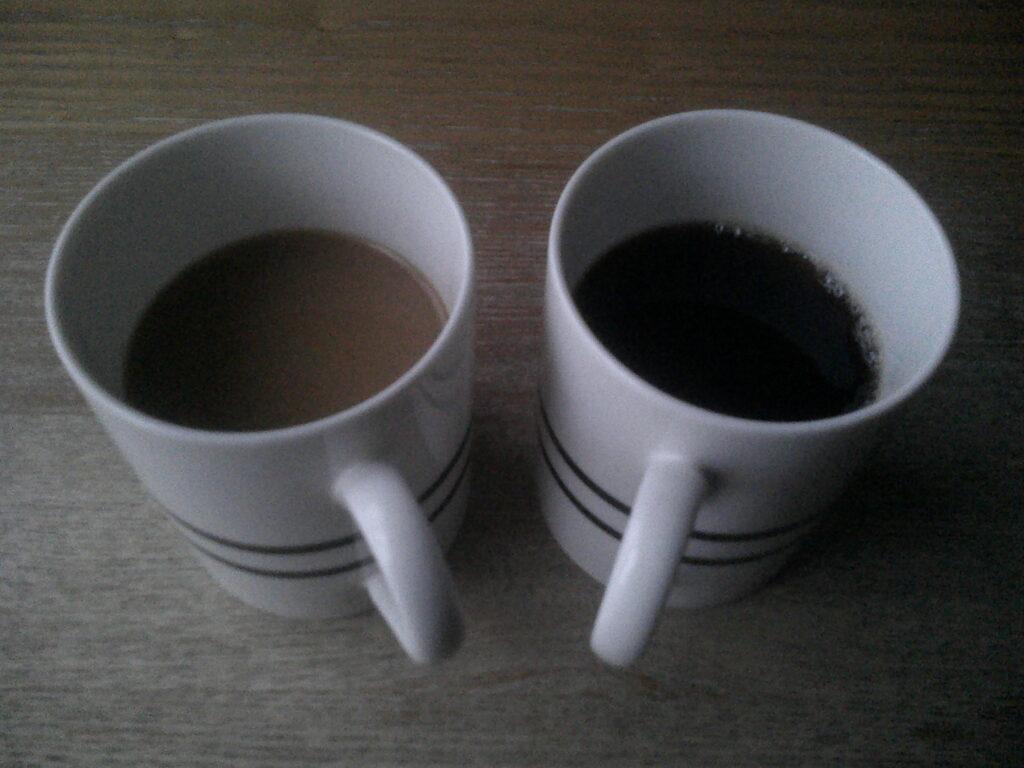 コーヒーの習慣について