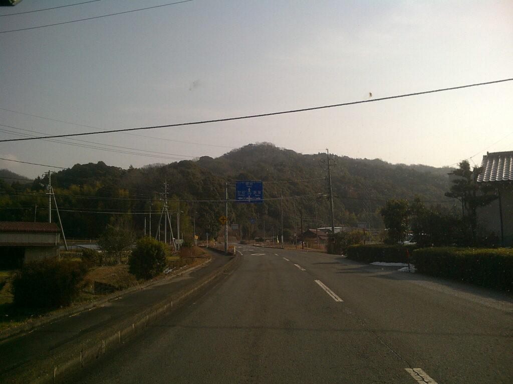 国道376から県道197(奈美方面)へ