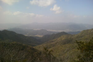 蕎麦ヶ岳からの眺望