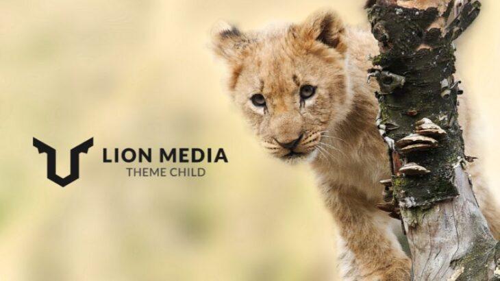 WPのテーマをSENTRYからLION MEDIAに変更しました