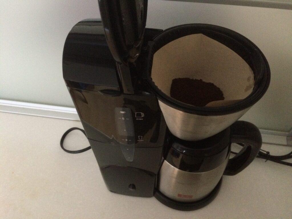 いつものコーヒーメーカー