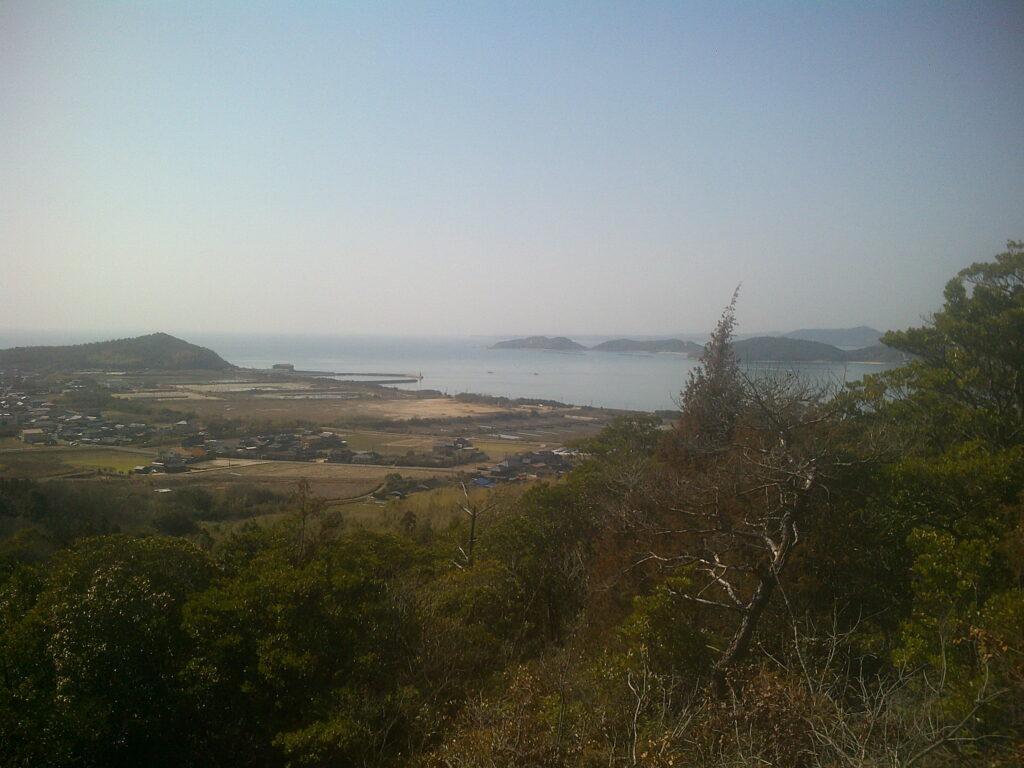秋穂湾の風景
