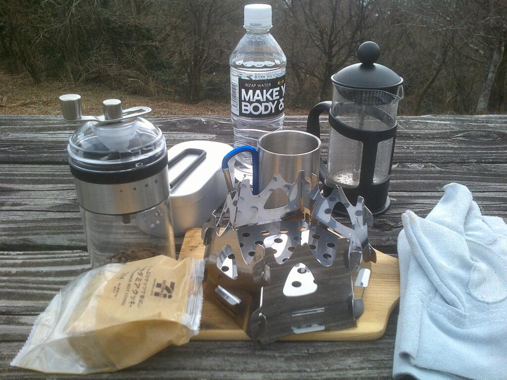 山コーヒー セッティング