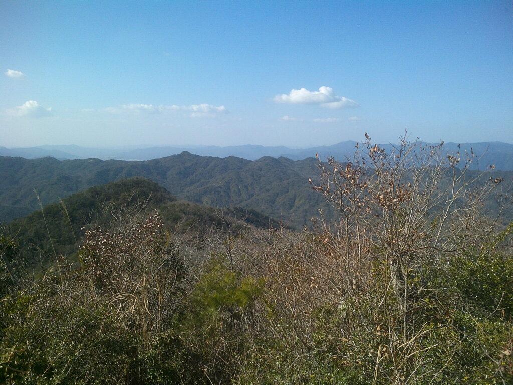 蕎麦ヶ岳方向の風景