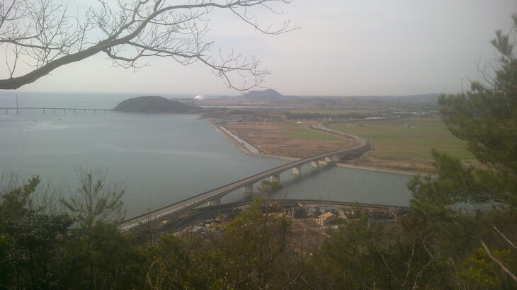 嘉川の絶景小山 相原山一周コース