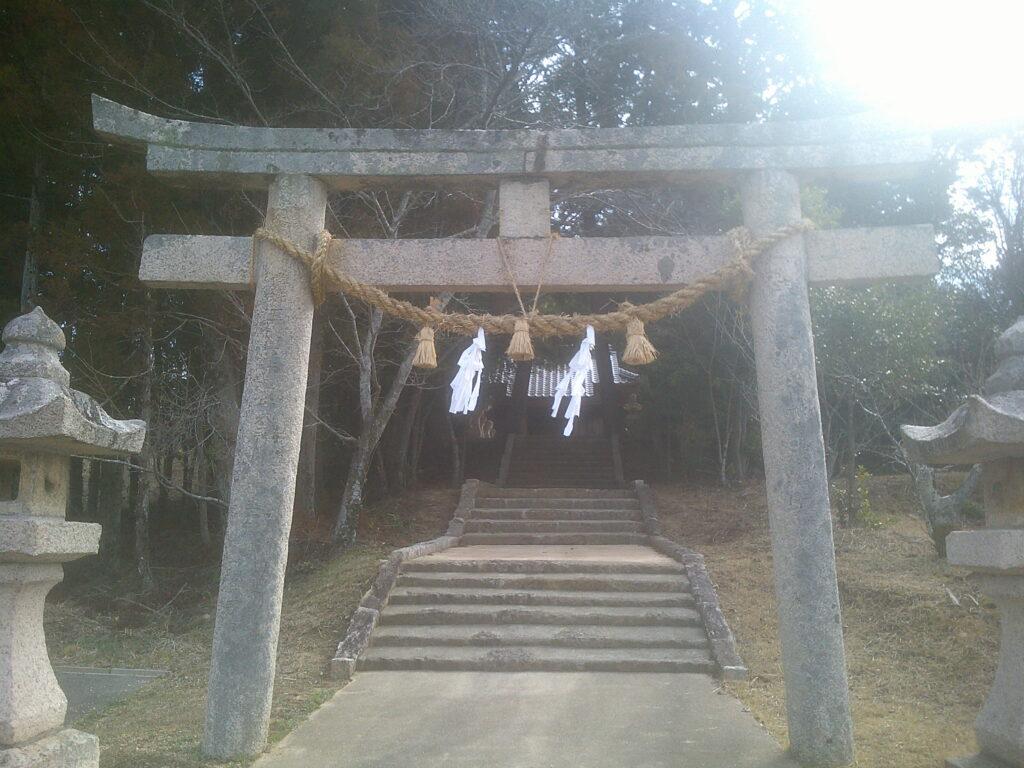 明神社 一の鳥居