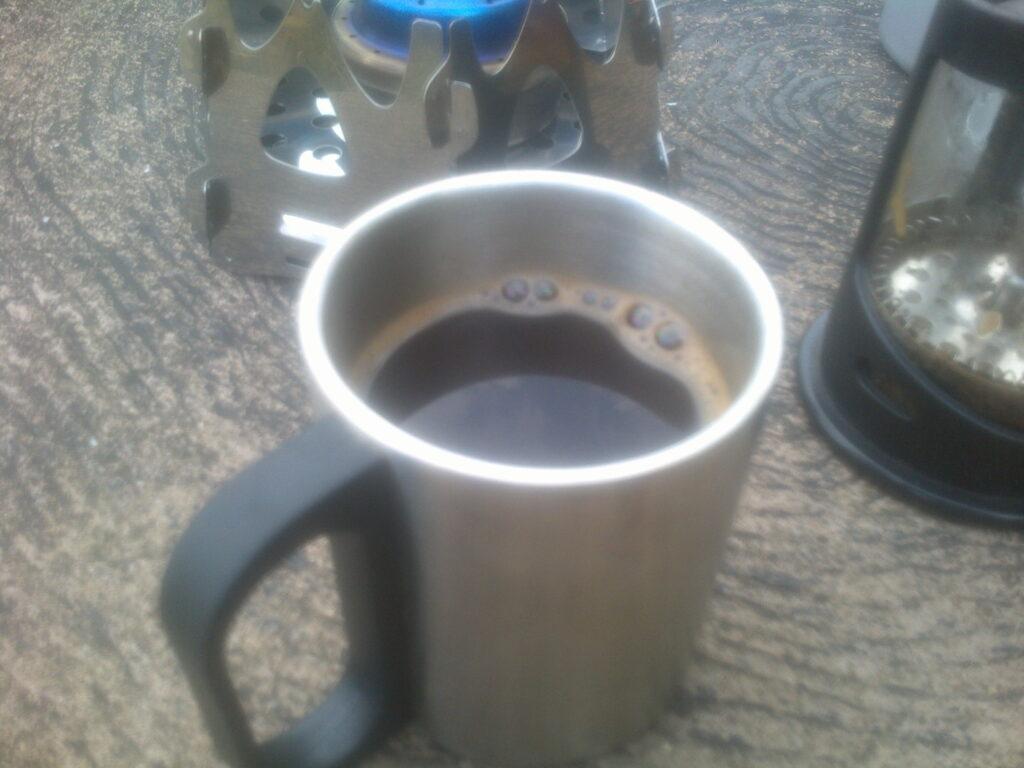 コーヒー美味すぎ