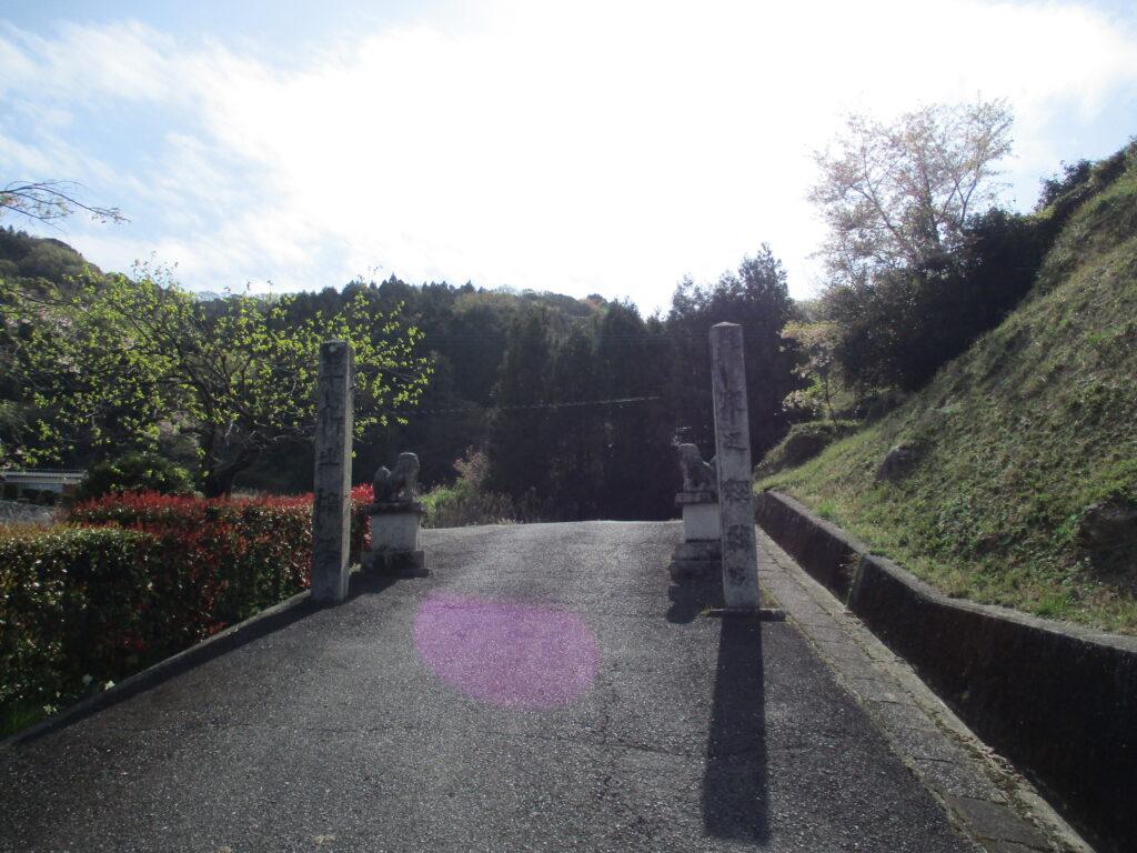 石城神社注連柱