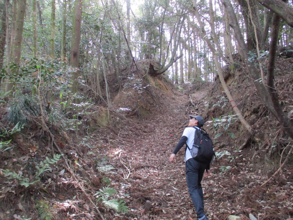 三鍛冶屋登山ルート