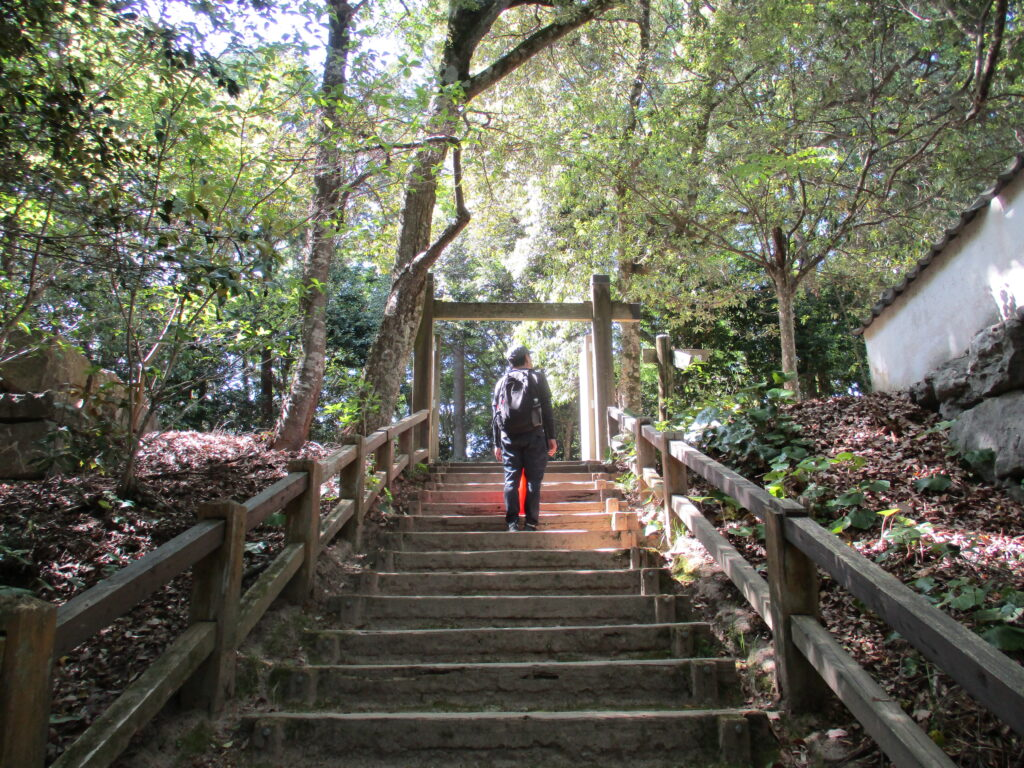 岩国城の大手門