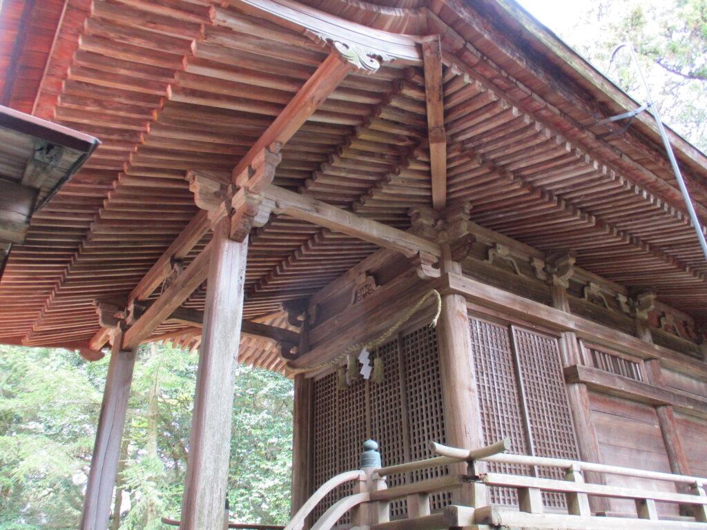 石城神社 本殿